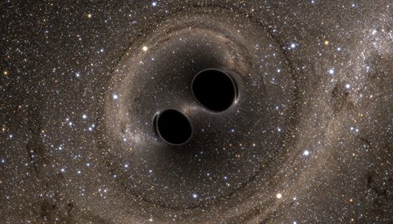 Black holes responsible for first gravitational wave