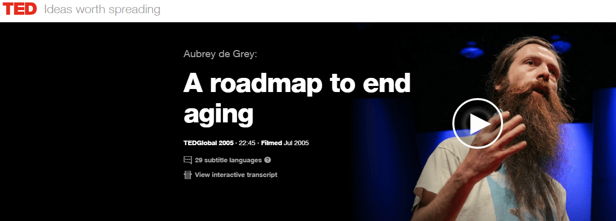 Roadmap to End Aging