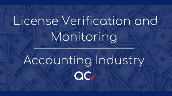 Atlas Certified Licence Verification and Monitoring in the Accounting Industry